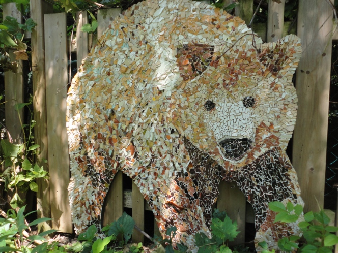 Teddy Bear Mosaic