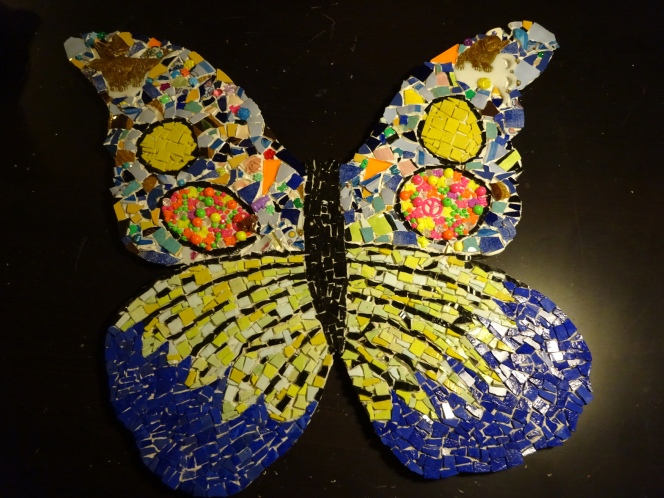 Long Branch Butterfly Mosaic Dec